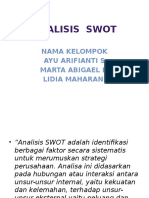 Ppt Analisis SWOT