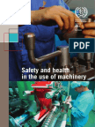 Safety and health in the use of machinery