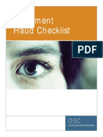 Res Investment Fraud Checklist En