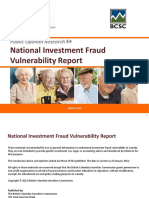 2012 National Investment Fraud Vulnerability Report