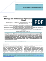 Etiology and microbiology of periodontal diseases