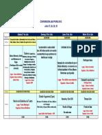 Agenda Convención JAS Piura 2013