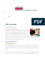 aibc scholarship 2016