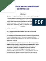Constitución De Puerto Rico