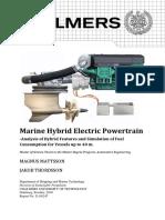 Marine Hybrid Electric Powertrain Chalmers Master Thesis Mattsson Thordsson 2010