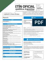 Boletín Oficial de la República Argentina, Número 33.399. 14 de junio de 2016