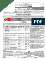 Diario Oficial El Peruano, Edición 9360. 13 de junio de 2016