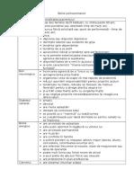 Bolile Psihosomatice Tabel