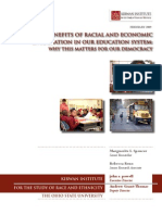 Benefits Racial Econ. Integration