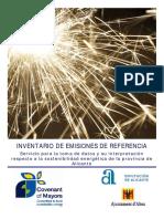 Ejemplo Inventario Emisiones Altea