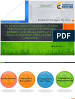 Resolución 0631 de 2015