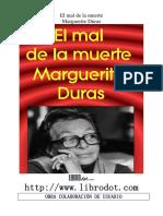 DURAS,Marguerite. El mal de la muerte.pdf