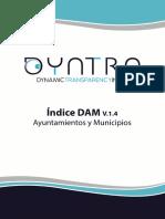 Indice Dam Ayuntamientos y Municipios v.1.4