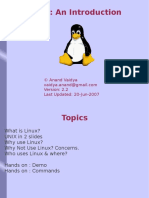 An Introduction to Linux3133