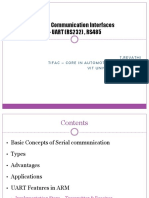 Universal Asynchronous Receiver Transmitter (UART)