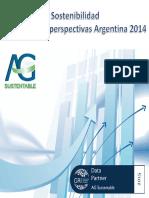 Memorias de Sostenibilidad Argentina 2014 - Informe AG Sustentable