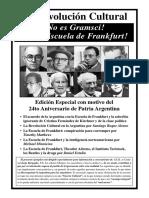 La Revolución Cultural - ¡No es Gramsci! ¡Es la Escuela de Frankfurt!