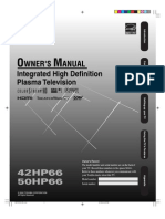 Toshiba 42HP66 Owners Manual