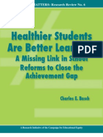 Healthier Students Are Better Learners