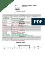 Calendário Ead 2016.2