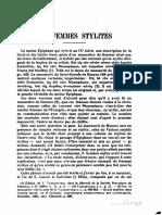AB 27 Delehaye, Les Femmes Stylites