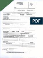 Civil Service Examination Form - 2016