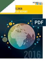 Rapport du REN21 sur la situation mondiale des énergies renouvelables