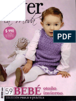 Tejer La Moda - 59 - Bebé Otoño Invierno