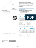 HP MSA 2040 Quick Start