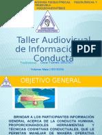 Taller Audiovisual Sobre La Conducta