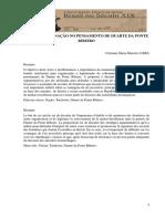 Territorio e Nação no pensamento de Duarte da Ponte Ribeiro