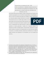 Diferencia Entre La Constitución de 1961 Y 1999