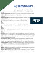 Glosario de Controles y Seguridad Informática