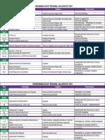 Programa Regional Vallescout 2016