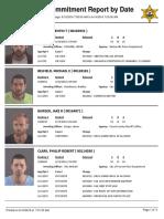 Peoria County Jail booking sheet 6/14/2016