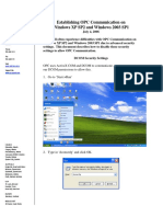 MatrikonOPC Windows XPSP2 2003SP1 DCOM Configuration