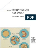 6 Supercontinents Assembly