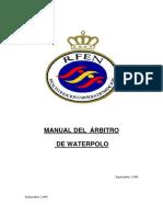 Manual Arbitro Waterpolo