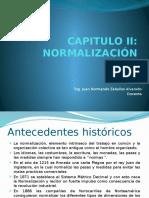 CAPITULO II NORMALIZACION.pptx
