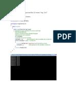 Algoritmica y Programacion