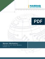 cfa - nasdaq e f - market mechanics - a guide to u s stock markets