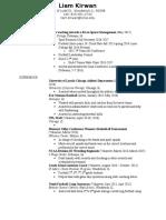liam current resume