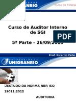 Aula Auditor Sgi 19011 Auditoria