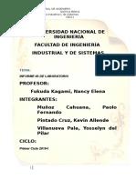 Informe de Laboratorio V