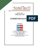 Exhibitor Manual- HT 2016