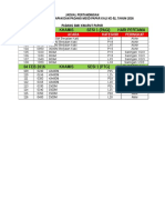Jadual Pertandingan Mssd Papar 2016 Baru Baru