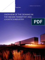 EBTC - 2013 - Overview of the Demand in the Indian Transport & Logistics Industry