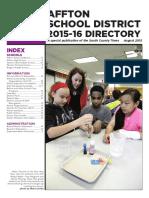 Affton School Directory 2015-16