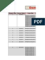 MRR,Damage, Status, Out Slip, & Shortage Reports