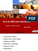 Guia de SEO Para Developers